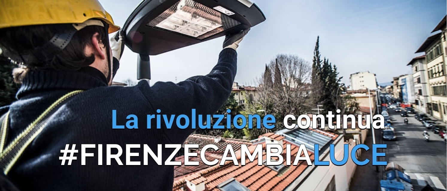 FIRENZE CAMBIA LUCE