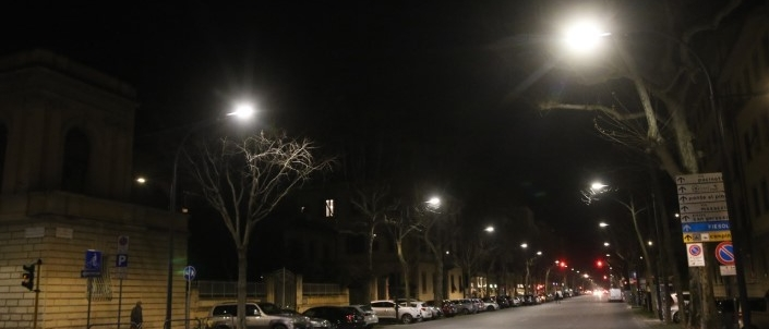NEW LIGHTING VIALE DEI MILLE