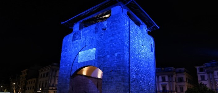 NEW ILLUMINATION OF PORTA LA CROCE